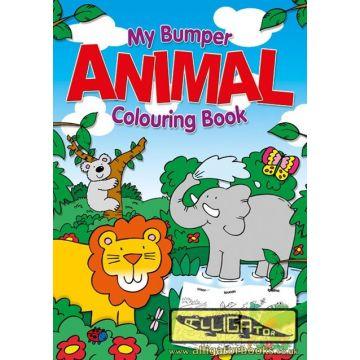 Animal Jumbo Colouring Book, Marea carte de colorat- Animale (070/ANJC)