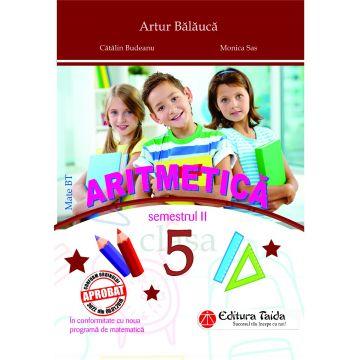 ARITMETICA clasa a V-a Semestrul 2