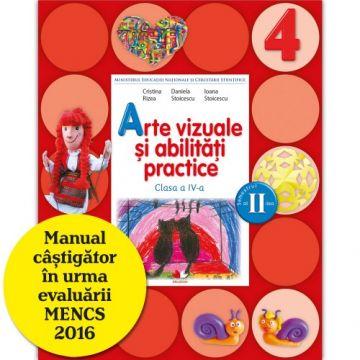 Arte vizuale și abilități practice. Manual. Clasa a IV-a (semestrul II) (conține CD) (Litera)