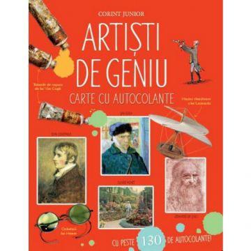 Artişti de geniu. Enciclopedie cu autocolante (Corint)