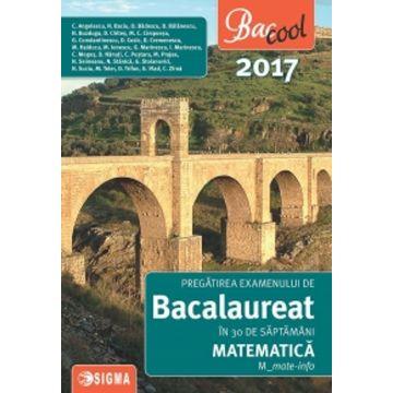 Bacalaureat 2017 - Matematica - Profil mate-info