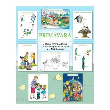 Set planse - PRIMAVARA, format A3 (CABA)