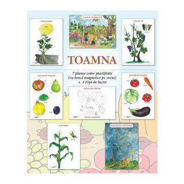 Set planse - TOAMNA, format A4 (Caba)