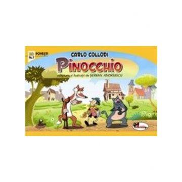 Benzi desenate - Pinocchio