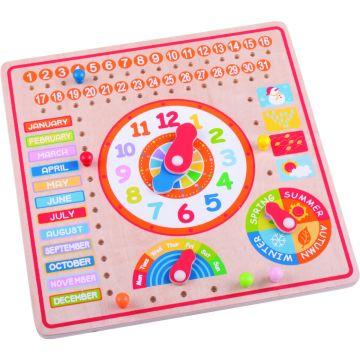 BigJigs Calendar luni, zile, data si ora