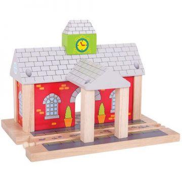 BigJigs Gara din lemn
