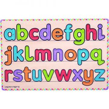 BigJigs Invatam sa scriem literele
