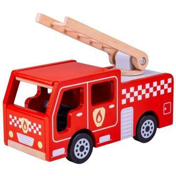 BigJigs Joc de rol - Masinuta de pompieri
