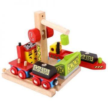 BigJigs Platforma pentru vagoanele cu carbune
