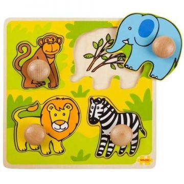 BigJigs Primul meu puzzle - Safari