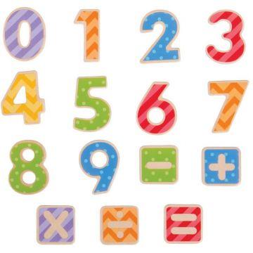 BigJigs Set numere magnetice