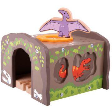 BigJigs Tunel cu T-Rex