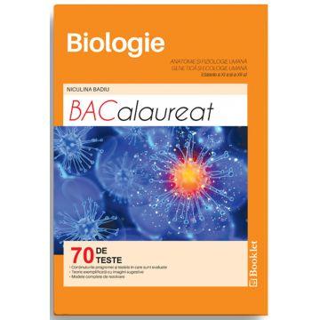 Biologie pentru clasele 11 si 12. Teste pentru bacalaureat (Booklet)