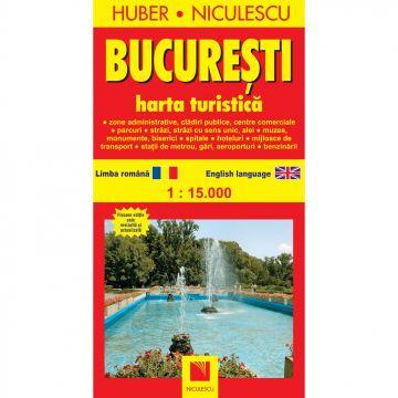 Bucuresti. Harta turistica