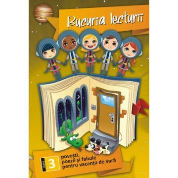 Bucuria lecturii clasa a III-a + Brosura cu aplicatii + Poster