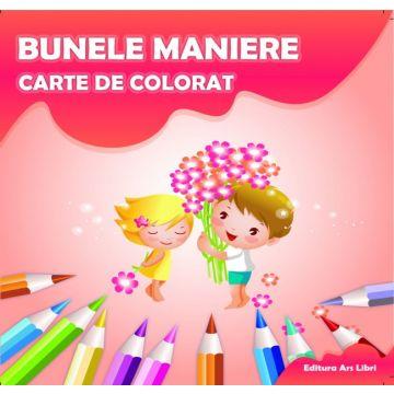 Carte de colorat - Bunele maniere (Ars Libri)