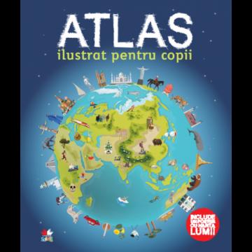 Atlas ilustrat pentru copii (Litera)