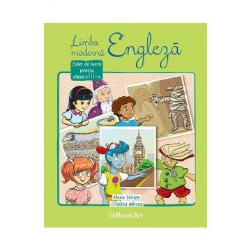 Caiet de lucru engleza pentru clasa a III-a (Booklet)