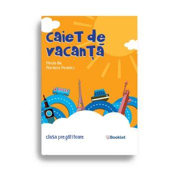 Caiet de vacanță – clasa pregătitoare (Booklet)