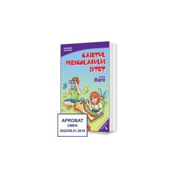 Caietul prescolarului istet - Semestrul I - Grupa mare