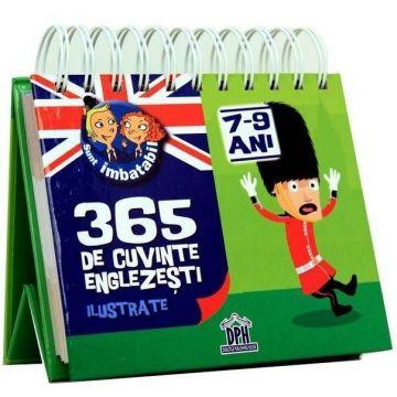 CALENDAR 'SUNT IMBATABIL' 365  DE CUVINTE ENGLEZESTI ILUSTRATE 9-11ANI