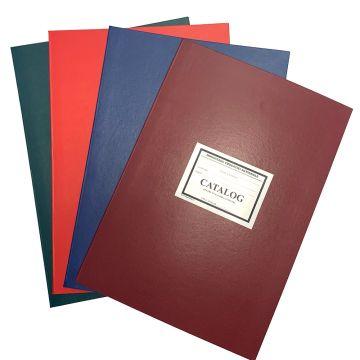 Catalog pentru invatamant prescolar- Coperta carton gros invelita cu imitatie piele de diferite culori