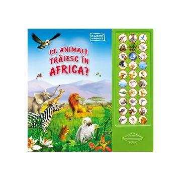 Ce animale traiesc in Africa? (Prut)