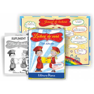 Lecturi de vară – Texte distractive pentru clasa a IV-a (Diana)