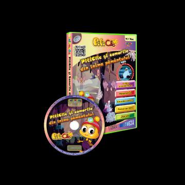 PitiClic si comorile din inima pamantului (CD-ROM) 3-7 ani