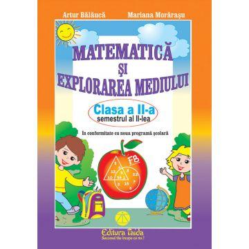 Matematica si explorarea mediului clasa a II-a semestrul II. Artur Balauca