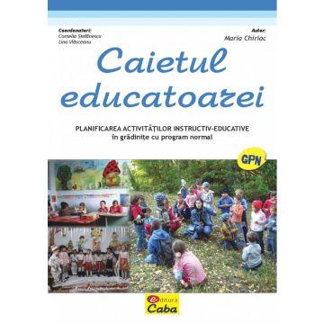 Caietul educatoarei pentru gradinite cu program normal ( Print A4) (Caba)