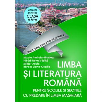Manual. Clasa a V-a. Limba si literatura romana pentru scolile si sectiile cu predare in limba maghiara + CD