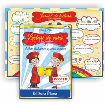 Lecturi de vară – Texte distractive pentru clasa pregatitoare (Diana)