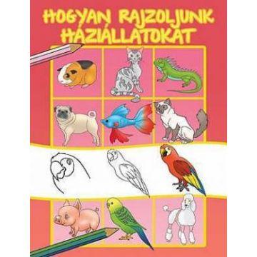 Cum sa desenam animale de companie - limba maghiara (Aquila)