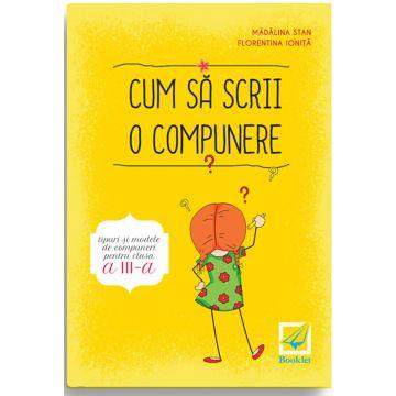 Cum sa scrii o compunere clasa a III-a (Booklet)