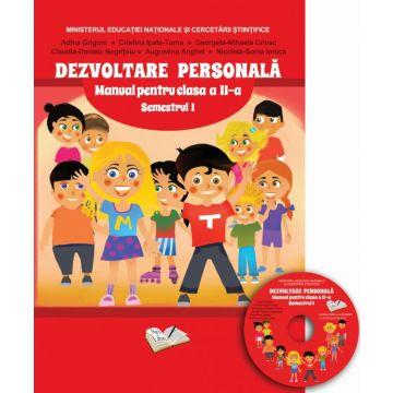 Manual dezvoltare personala - Clasa a II-a - Semstrul I (contine CD cu manualul in format digital)
