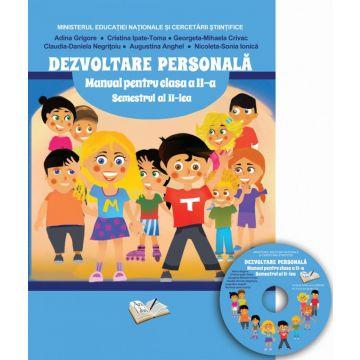 Manual dezvoltare personala - Clasa a II-a - Semstrul II (contine CD cu manualul in format digital)