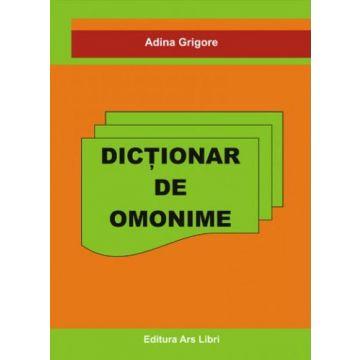 Dictionar de omonime (Ars Libri)