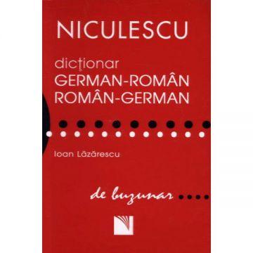 Dictionar german-roman/roman-german de buzunar