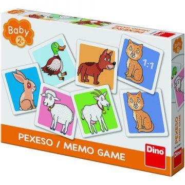 Dino Toys Joc de memorie - Ferma vesela