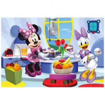 Dino Toys Puzzle 2 in 1 - Prietena mea Minnie (66 piese)