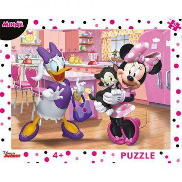 Dino Toys Puzzle cu rama - Minnie (40 piese)