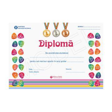 DIPLOMA SCOLARA 2019 MODEL 10