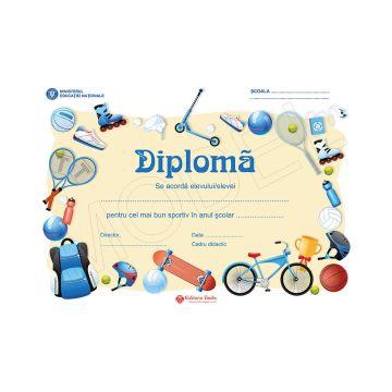 DIPLOMA SCOLARA 2019 MODEL 9