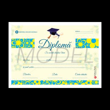 DIPLOMA SCOLARA 2017 MODEL 4