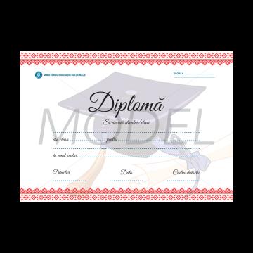 DIPLOMA SCOLARA 2017 MODEL 5