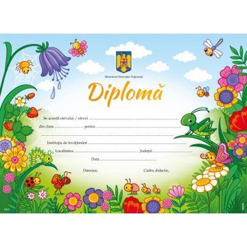 Diploma pentru clasa pregatitoare