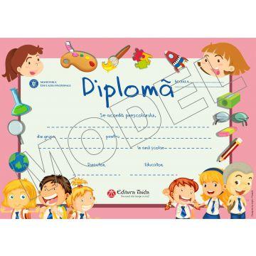 Diploma gradinita Taida 2018