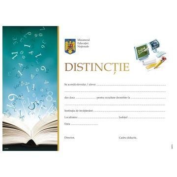 Distinctie la Matematica si Stiinte (diploma)