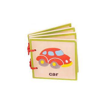 BigJigs Carticica pentru bebelusi - Vehicule